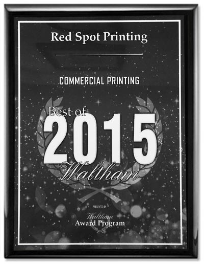 red spot printing